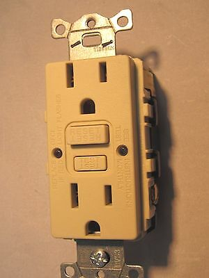 15A Gfci / Gfc Receptacles, New Hubbell Gfrst15I, Ivory, Does Not Include Cover