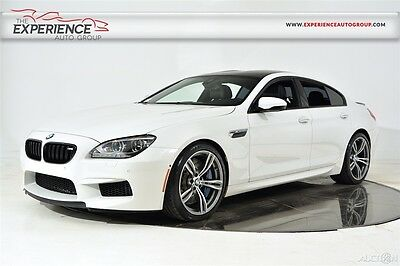 2014 BMW 6-Series M6 Gran Coupe Executive Adaptive LED Head Up Ventilated Active Heated Bang & Olufsen Full Merino Assist
