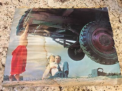 Original vintage 1978 DC Comics Superman movie poster P&G Rare