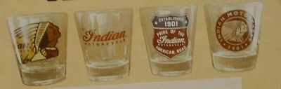 Indian Motorcycle Shot Glass Set (2863915) NIP