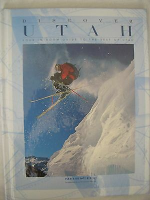 1997 Discover Utah  Discover Hardcover Travel Book