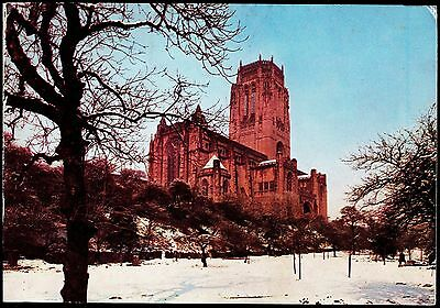 Cathedral In The Snow - Liverpool-Christmas Card - No11