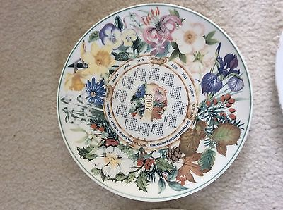 Wedgwood Daily Mail Calendar  Collector Plate. 2003