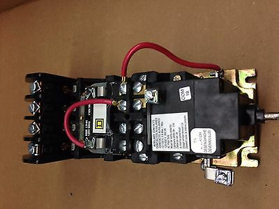 8903LX040 Square D Contactor Mechanically Held 120V Coil