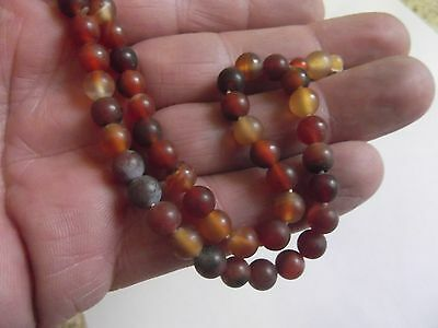 Original Ancient Roman Carnelian  Beads 2Nd To 3Rd Century A.d.