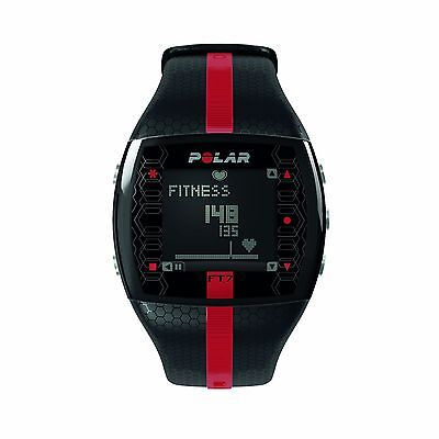 Polar FT7 Heart Rate Monitor and Sports Watch Black / Red One Size