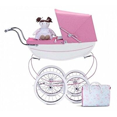 SILVER CROSS BLOSSOM DOLLS PRAM. Delivery is Free