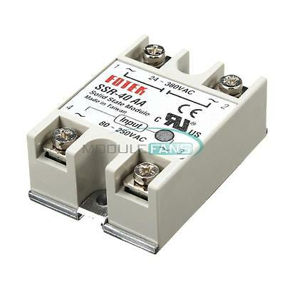 SSR-40AA-H 40A Solid State Relay Module 90-380V AC/ 80-250V AC  M