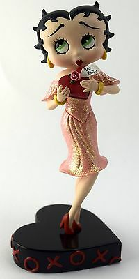 DANBURY MINT HUGS & KISSES by Syd Hap BOXED Betty Boop figurine/ornament/statue