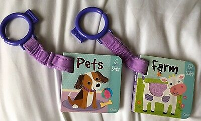 Baby Pets And Farm Pushchair Books