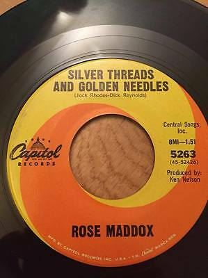 Rose Maddox - Silver Threads and Golden Needles/Tia Lisa Lynn (Capital) country