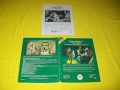 S1 Tomb Of Horrors Dungeons & Dragons Ad&d Tsr 9022 1 Green Cover Module