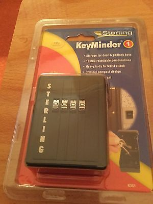 Keyminder Sterling Brand New In Packaging Key Safe Combination Lock Christmas