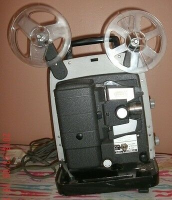 Vintage-Bell And Howell(Lumina-1.2)8.mm.reel To Reel- Film Project-Ex+ To Spools