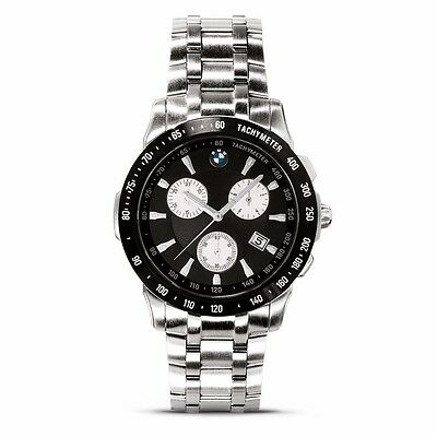 BMW Genuine Mens Sports Chronograph Tachymeter WATCH - RRP £180