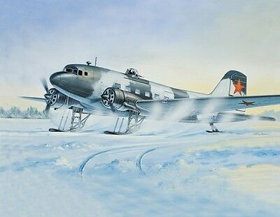 1:144 EASTERN EXPRESS #14432  Transport aircraft Li-2T winter version