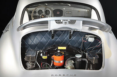Porsche 356 Carrera Vintage Racing (Engine) Large Poster  Print