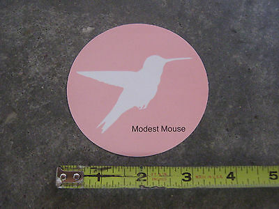 Modest Mouse: Good news for people who love bad news promo sticker
