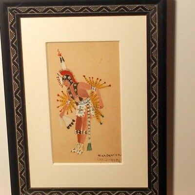 Carl Sweezy Original Painting  / Arapaho