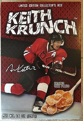 Duncan Keith KEITH KRUNCH CEREAL, Limited Edition Collector's Box, 14 Oz