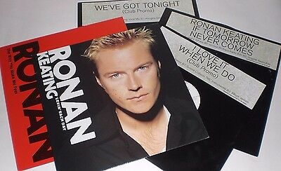 "Collection of 5 x Ronan Keating 12"" remix singles"