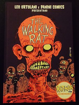 Leo Ortolani THE WALKING RAT VARIANT Ed. limitata per Emergency