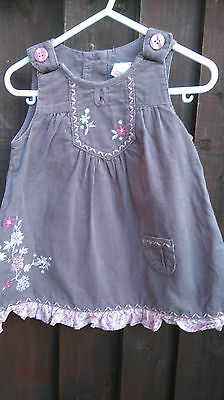 Next Cute Baby Girls  Dress Age 6-9 Months Immaculate