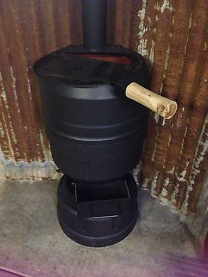 Pot Belly Fire Wood Stove Heater Potbelly
