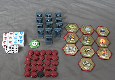 Lot of Heroscape Glyphs Dice Markers