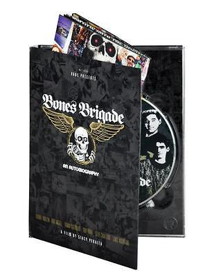 NEW Bones Brigade Skateboard and Autobiography DVD  -- Factory Sealed