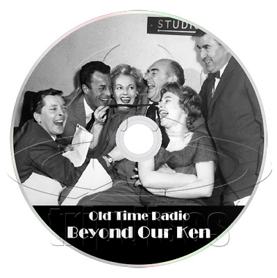 Beyond Our Ken (OTR) Complete Collection of 88 Episodes, Old Time Radio (mp3 CD)