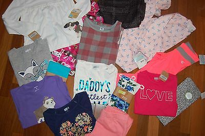 NWT Girls 5 5T HUGE 15 piece Fall Winter Lot NICE Items ~ L@@K!  Crazy 8 Carters