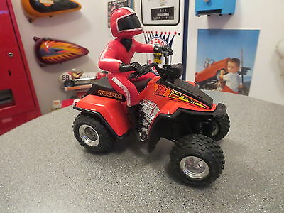Vintage Tonka Atv Off Road Viecle Suzuki 80S With Rider