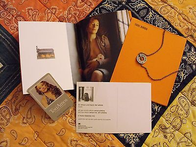 Tori Amos Promo Lot; Boys For Pele Book, Posters, Tour Necklace & T-shirts (two)