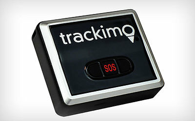 Trackimo TRK 100 GPS Tracker+1 yr GSM service+travel pouch 2G model-Brand new