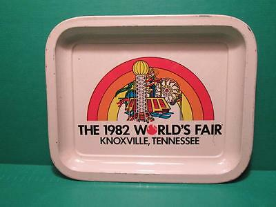 Vintage 1982 World's Fair Tin Tray - Knoxville, Tennessee