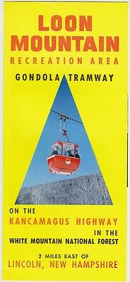 1960's Loon Mountain Gondola Tramway Brochure