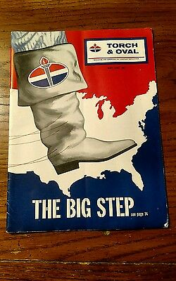 Vintage American Oil Company Magazine 1961 Torch & Oval
