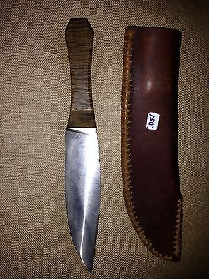 Handmade Custom Knife With Sheath