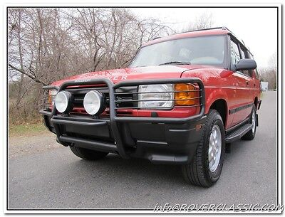 1994 Land Rover Range Rover County SWB 1994 LAND ROVER RANGE ROVER COUNTY CLASSIC