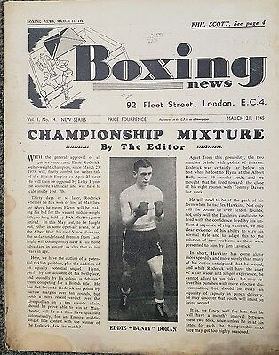 Boxing News March 21 1945