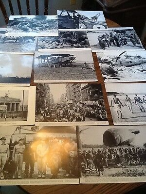 Lot Of 18 War Photographs, Pictures WW 2, Korea, Vietnam, Etc Collectible