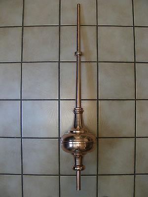 Hand Crafted Copper Cupola Roof Finial *never Used*