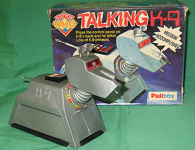 Palitoy Talking K9, BOXED. Very rare! Dr Doctor Who. From 1978, GC