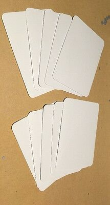 Blank A7 Craft Cards (10) Rounded Corners