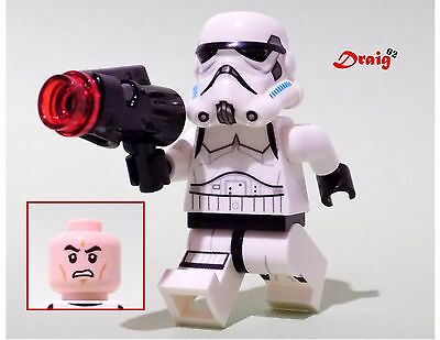 LEGO Star Wars - GENUINE LEGO Stormtrooper - 'Face type A'  *NEW* from 75078