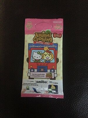 Animal Crossing Sanrio Amiibo Cards - Complete set all 6!  English version