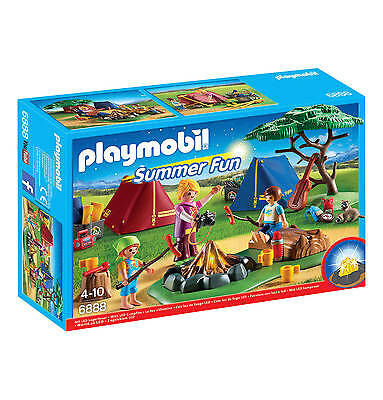 Playmobil 6888 Summer Camping Camp      Brand New / Sealed