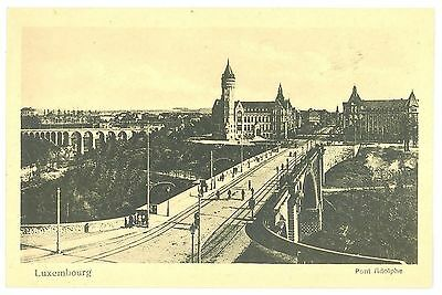 CPA LUXEMBOURG - Pont Adolphe