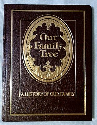 Our Family Tree book (Family Genealogy & History)